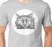 Sleepy Kitty Unisex T-Shirt
