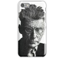 Samuel Beckett - Irish Author iPhone Case/Skin
