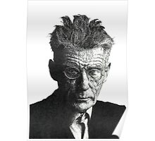 Samuel Beckett - Irish Author Poster