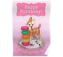 Happy Birthday ~ Bambi & Macarons version Poster