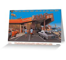 Pulp Fiction Greeting Card