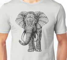 Ornate Elephant Unisex T-Shirt