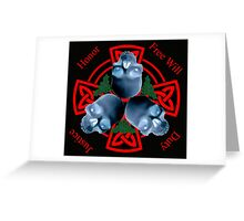 LeatherWing Coat of Arms Greeting Card