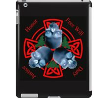 LeatherWing Coat of Arms iPad Case/Skin