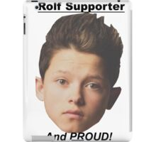 Jacob Sartorius Rolf Supporter iPad Case/Skin