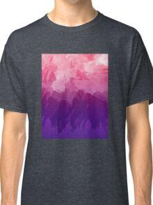 Pink Watercolor Gradient Classic T-Shirt