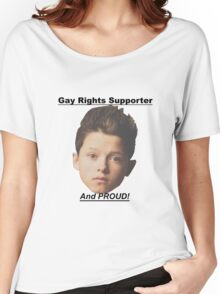 Jacob Sartorius Gay Rights Supporter Women's Relaxed Fit T-Shirt