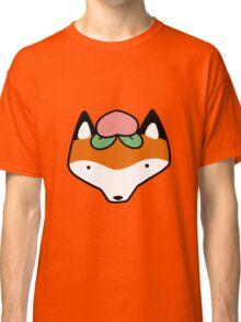 Peach Fox Face Classic T-Shirt