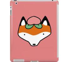 Peach Fox Face iPad Case/Skin