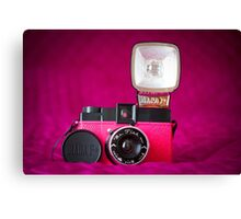 Mr. Pink - Diana F+ Camera Canvas Print