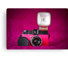 Mr. Pink - Diana F+ Camera Canvas Print