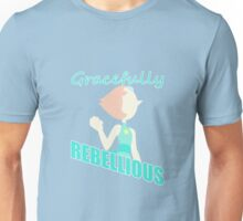 Pearl: Gracefully Rebellious Unisex T-Shirt