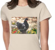 Farm talk - Goodbye Micky Womens Fitted T-Shirt