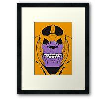 Thanos in colour  Framed Print