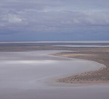 Beaut Beach at Lovely Lake Eyre by KazM