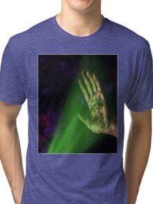 LIL UGLY MANE RIP HUMAN RAP GAME SHIRT Tri-blend T-Shirt