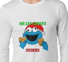 Cookie Monster Christmas Long Sleeve T-Shirt