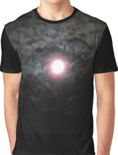 Moon Lit Clouds Graphic T-Shirt