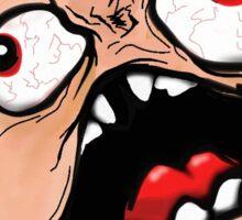 Classic Rage Face Colored Sticker