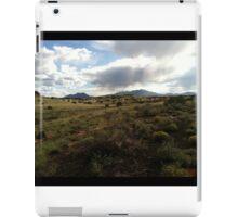 Rainstorm Over Arizona Horizon iPad Case/Skin
