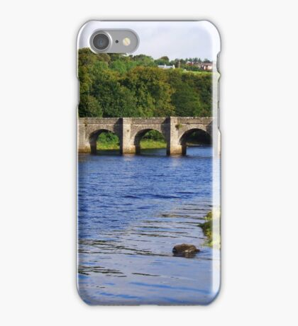 Castle Bridge, Buncrana iPhone Case/Skin