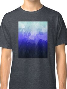 Icy Watercolor Gradient   Classic T-Shirt