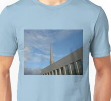 The Preston Temple at Sundown Unisex T-Shirt