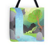 Lehti at the waterfall Tote Bag