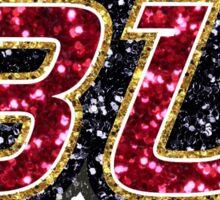 Glitter Bloomsburg Sticker