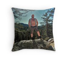 TROY - ON TOP OF THE WORLD Throw Pillow