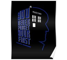 You Never Forget Your First - Doctor Who 2 Patrick Troughton Poster