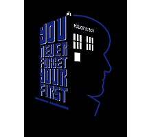 You Never Forget Your First - Doctor Who 2 Patrick Troughton Photographic Print