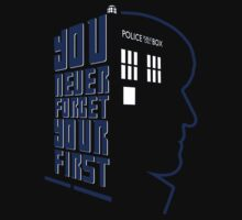 You Never Forget Your First - Doctor Who 2 Patrick Troughton Baby Tee