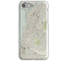 Vintage Map of Montreal (1901) iPhone Case/Skin