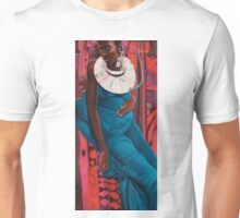 Blue Madonna. (original in museum collection) Unisex T-Shirt