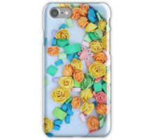Quilled flowers iPhone Case/Skin