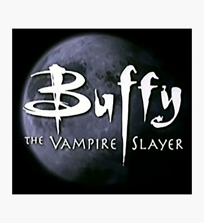 Buffy  Photographic Print