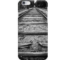 Old Train Tracks iPhone Case/Skin