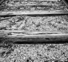 Old Train Tracks Sticker