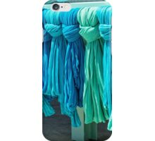 Shades of blue iPhone Case/Skin