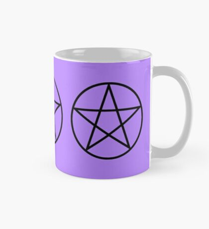 3 Pentagrams - Halloween - Witchcraft - Wicca - Charmed Mug