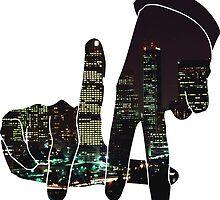 La City Skyline by Maestro Hazer