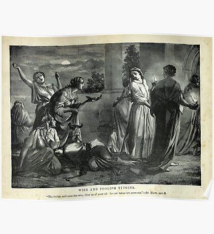 WISE and FOOLISH VIRGINS (ST. MATT.XXV.8) Poster
