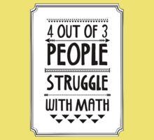 Math Struggle Kids Tee