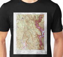 USGS TOPO Map California CA Challenge 289115 1948 24000 geo Unisex T-Shirt