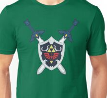 Hylian Shield and Master Sword Crest Unisex T-Shirt
