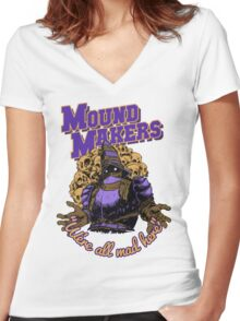 Mound-Makers Covenant Women's Fitted V-Neck T-Shirt