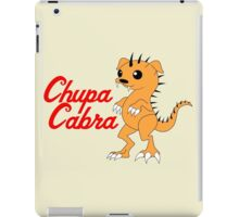 Chupacabra (without background) iPad Case/Skin