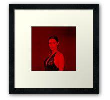 Bella Hadid - Celebrity (Square) Framed Print