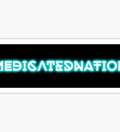 Medicated Nation Sticker